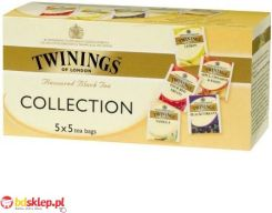 TWININGS Herbata ekspresowa Flavoured Collection 25szt*2g