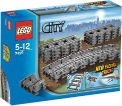 Lego City Trains Flexible Rails 7499 - 0