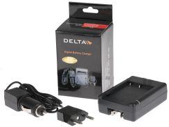 Delta sieciowo samochodowa do akumulatorów Canon NB-4L (39912)