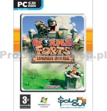 Worms Forts UNDER SIEGE (Gra PC)