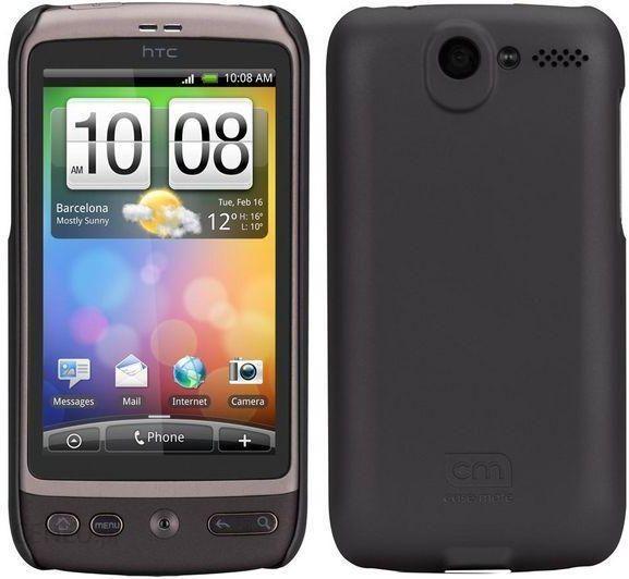 CASE MATE Obudowa na HTC Desire - Czarna (CM011469)