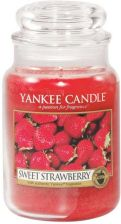 Yankee Candle SWEET STRAWBERRY duży słoik