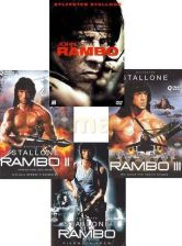 Rambo Quadrilogy pakiet (First Blood) (4DVD)