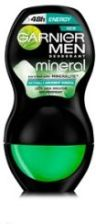 Garnier Mineral Men Energy dezodorant 50 ml Roll On