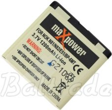 maXpower do Nokia E51/N81 Li-ion 1200mAh - 0