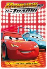 Dekoria Kocyk polarowy Disney Cars Burning Track