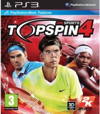 Top Spin 4 (Gra PS3) - 0