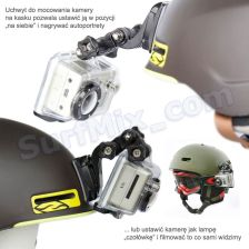 Zaczep do kasku dla kamer GoPro HD Hero Helmet Front Mount 2011