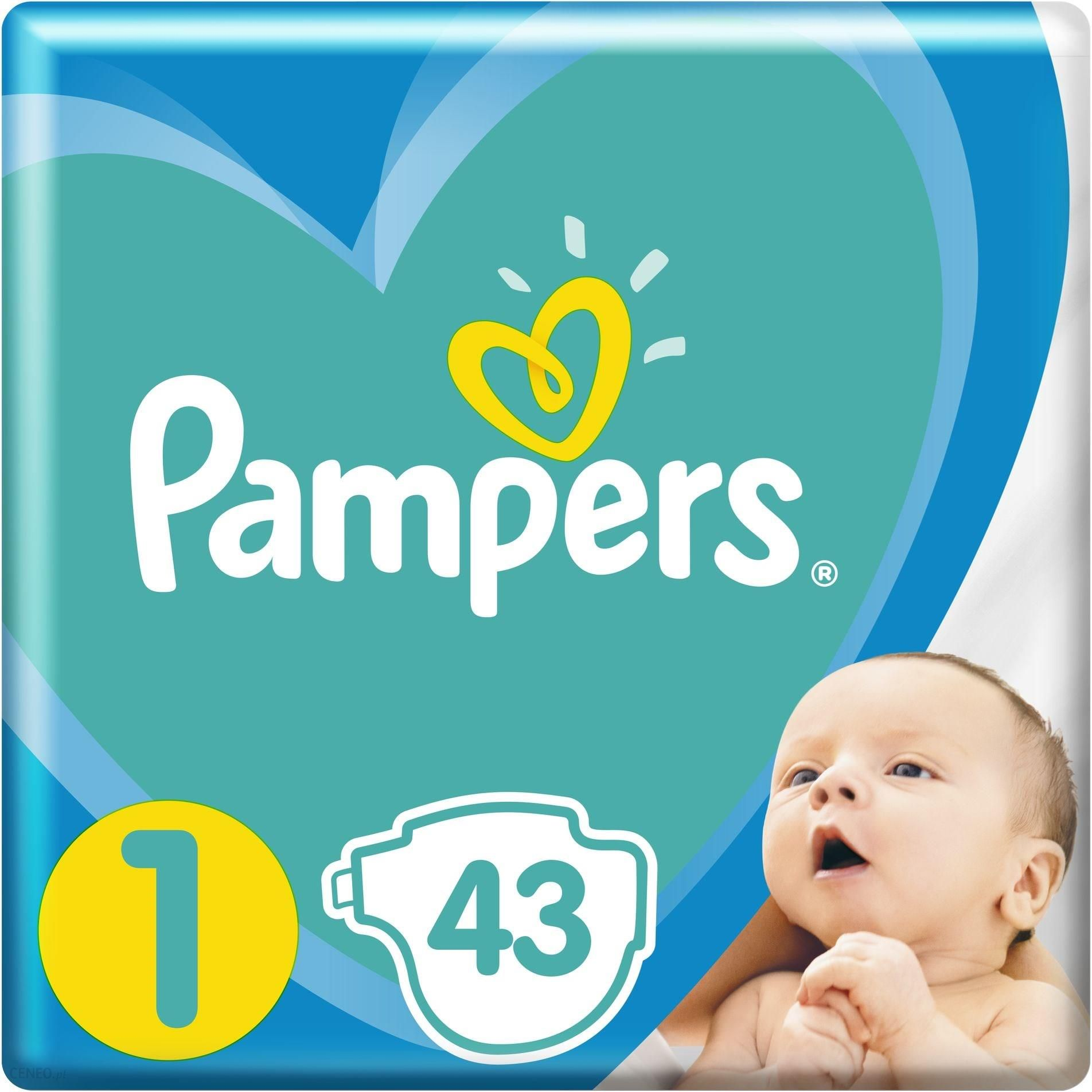 Pampers Pieluchy New Baby 1 Newborn 2-5Kg 43Szt