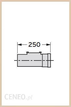 Vaillant Prostka rewizyjna DN 80, 0.25 m (303256) - 0