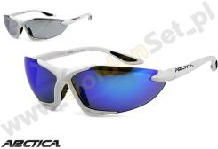 Okulary Arctica Spider S-50B White 2011