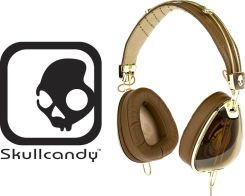 Słuchawki SkullCandy Aviator Roc Nation Brown 2011