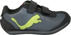 Puma Buty Speeder Illuminescent V Kids Black-Tender Buty sportowe