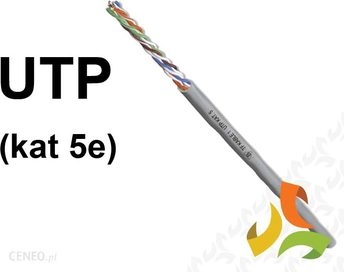 ELPAR KABEL UTP PC 4x2x0,5mm2 cat5e SIECIOWY UTP5e
