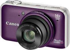 Canon Powershot SX220 HS fioletowy