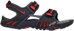 Sandały Santiam 4 Nike - czarno-czerwone (312839001)
