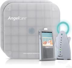 Angelcare Monitor Oddechu Z Nianią Elektroniczną I Kamerą Video Ac1100