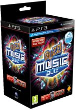 Buzz! The Ultimate Music Quiz + Buzzery (Gra PS3)