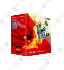AMD APU X4 A8-3850 2.9GHz BOX (FM1) (100W) (AD3850WNGXBOX)