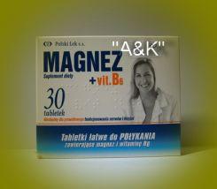 Polski Lek MAGNEz + Vit B6