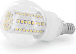 Whitenergy Żarówka LED Kulka B60 E14 | 80 SMD 3528 | 4W | 230V | zimna biała 07574