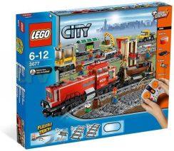 Lego City Pociąg Towarowy Red Cargo Train 3677 - 0