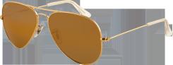Ray Ban okulary AVIATOR LARGE METAL RB3025