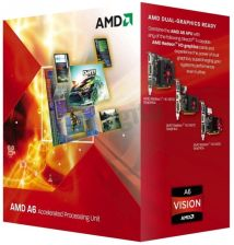 AMD A6-3500 2.4GHz FM1 BOX (AD3500OJGXBOX)