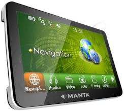 MANTA GPS710MSX Mapa Map Top