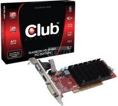CLUB3D HD5450 (CGA-5452PLI)