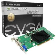 EVGA GeForce 6200 (512-A8-N403-EL)