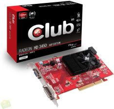 CLUB3D HD3450 (CGA-3452)