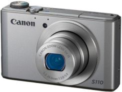 Canon IXUS 110 IS, srebrny