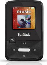 SanDisk Sansa Clip zip MP3 4GB Black (SDMX22-004G-E46K)