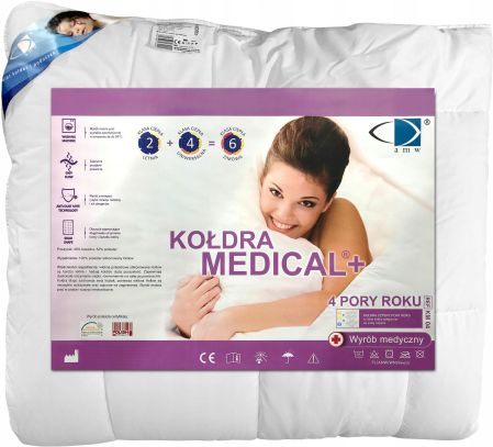 Amw Kołdra Medical 160x200 4 Pory Roku