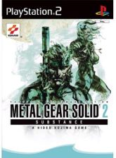 Metal Gear Solid 2: SUBSTANCE (Gra PS2)