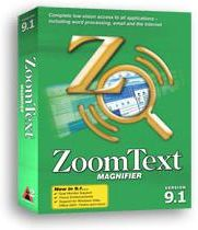 zoomText 9.1 Magnifier