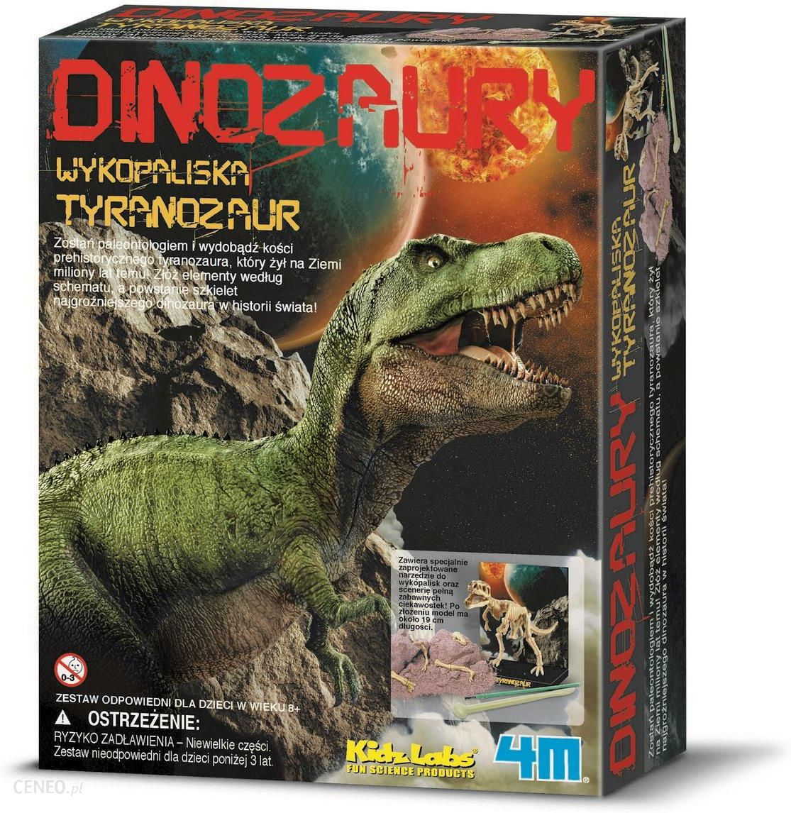 4M Wykopaliska Tyranozaur Trex 3221