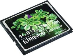 Kingston CompactFlash 4GB Elite Pro 133x (CF/4GB-S2)