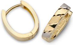 ADE ART. złote kolczyki 1099