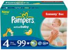 Pampers Active Baby-Dry 4 Maxi (7-14kg) 99szt. - zdjęcie 2