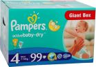Pampers Active Baby-Dry 4 Maxi (7-14kg) 99szt. - zdjęcie 3