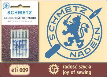 Igły do skóry Schmetz ETI029 - 5x110