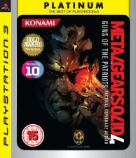 Metal Gear Solid 4: Guns of the Patriots (Gra PS3)