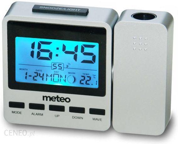 Uhr + Thermometer + Projektor METEO Zeit ZP9
