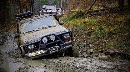 Szkolenie off-road na Twoim samochodzie - Kraków