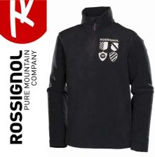 Rossignol polar BOY 1//2 zIP MICROFLEECE BLACK