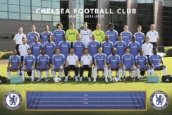 Chelsea Londyn Team Photo 11/12 - plakat