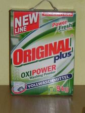 Original Plus Oxi Power Woolwaschmittel Uniwersalny Proszek do Prania, 5kg IMPORT - 0