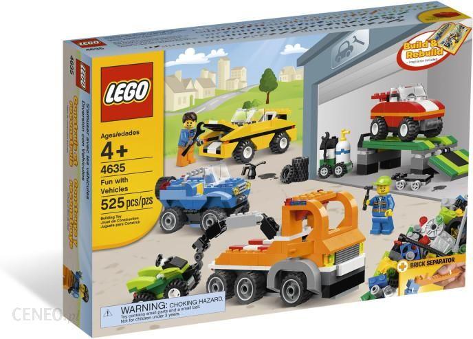 Lego Bricks & More Zabawa Z Pojazdami 4635